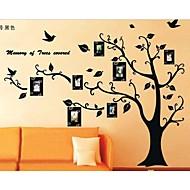 fotoğraf çerçevesi ağaç duvar çıkartmaları çocuk odası duvar sanatları oturma odası duvar çıkartmaları zooyoo2141