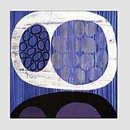 billiga Abstrakta målningar-Hang målad oljemålning HANDMÅLAD - Abstrakt Europeisk Stil Moderna Duk
