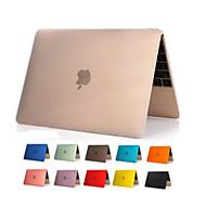 alta qualidade pvc corpo inteiro capa dura claro transparente caso para maçã novo MacBook de 12 polegadas (cores sortidas)