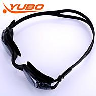 billiga Swim Goggles-Simglasögon Anti-Dimma Justerbar storlek Anti-UV Stöttålig Anti-halk band Vattentät Kiselgel PC Svart Ljusgrå