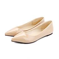 Sko - Kunstlær - Flat hæl - Creepers - Flate sko - Kontor og arbeid / Formell / Fritid - Svart / Blå / Gul / Grønn / Rød / Beige