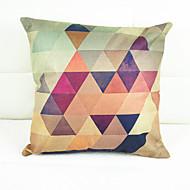 chromatische geometrie decoratieve kussensloop (17 * 17 inch)