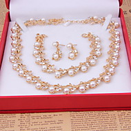 Dames Anderen Sieraden set Oorbellen / Kettingen / Armbanden - säännöllinen Voor Bruiloft / Feest / Speciale gelegenheden