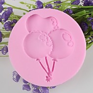 ballon alakú fondant torta csokoládé szilikon penész, dekorációs szerszám bakeware