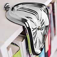 levne Nástěnné hodiny-pohodě novinka hodinky umění warp chrom tavící křemenné nepravidelný roztomilé hodiny