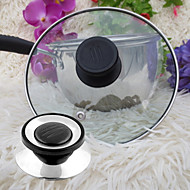 Universal Cookware Pot Pan Lid Replacement Screw Handle Circular Utensil Cover Holding Knob