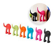 Soft Rubber Dog Cat Pet Leash Hook Bastis Clothes Hanger