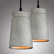 ieftine -Lumini pandantiv Lumină Spot - Stil Minimalist, Vintage Țara Tradițional / Clasic Retro, 110-120V 220-240V, Alb Cald, Becul nu este inclus