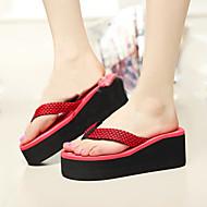נעלי נשים - כפכפים - PVC - כפכפים - כחול / צהוב / ירוק / אדום - שטח - עקב שטוח
