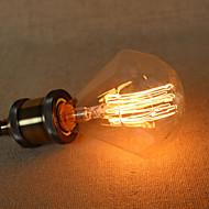 billige Glødelampe-1pc 40 W E26 / E27 / E27 G95 Varm hvit 220-240 V