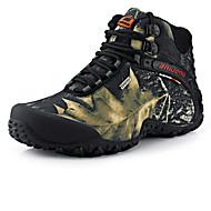 Masculino sapatos Tecido Outono Inverno Conforto Tênis Aventura Flor Para Atlético Casual Cinzento Khaki