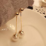 Per donna Perle Orecchini a goccia Perla Perle finte Orecchini Donne Gioielli Bianco Per Feste Quotidiano Casual