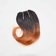 Menselijk haar weeft Braziliaans haar Golvend 1 Stuk haarweefsels