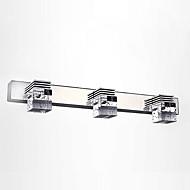 billige Krystall Vegglys-Moderne / Nutidig Baderomsbelysning Metall Vegglampe IP67 110-120V / 220-240V 9W