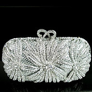 Women Bags PU Evening Bag for Event/Party All Seasons Silver