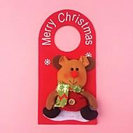"""זול עיצוב-23cm / 9 בובת איילי doornob מתנת חג המולד קישוט """"מתנה לשנה החדשה צעצוע קטיפה תלוי"""