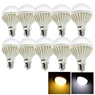 billige Globepærer med LED-YouOKLight 10pcs 12 W 1050 lm E26 / E27 LED-globepærer 24 LED perler SMD 5630 Dekorativ Varm hvit / Kjølig hvit 220-240 V / 10 stk. / RoHs