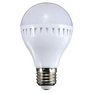 billige Globepærer med LED-500 lm E26/E27 LED-globepærer A60(A19) 16 leds SMD Dekorativ Varm hvit Kjølig hvit AC 100-240V