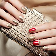 1 Autocollant d'art de clou Bijoux pour ongles Autocollants 3D pour ongles Adorable Punk Maquillage cosmétique Nail Art Design