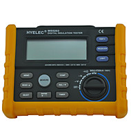 cheap Electrical Instruments-HYELEC MS5203 Digital Insulation Resistance Tester Multimeter Megger 0.01 Mohm to 10.00 Gohm HV meter 50V-1000V output