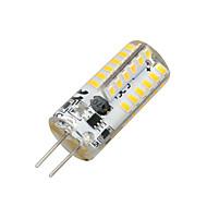billige Kornpærer med LED-2W 100-200 lm G4 LED-kornpærer T 48 leds SMD 3014 Varm hvit AC 12V