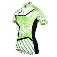 ILPALADINO Žene Kratkih rukava Biciklistička majica - Zelen Bicikl Biciklistička majica, Quick dry, Ultraviolet Resistant, Prozračnost