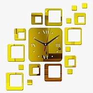 Kvadrat Moderne / Nutidig Wall Clock , Familie Andre 17.7*23.6