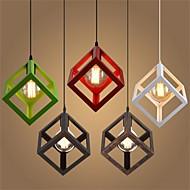 billige Takbelysning og vifter-Geometrisk Anheng Lys Omgivelseslys Metall Mini Stil 110-120V / 220-240V Varm Hvit Pære ikke Inkludert / E26 / E27