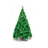 プラスチック クリスマスツリー 人工花