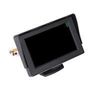 """halpa -dearroad LCD auto kääntää taustakamera väri kamera videonauhuri kaukosäädin 4.3 """"TFT"""