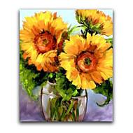 ieftine Artist - L.Gill-Hang-pictate pictură în ulei Pictat manual - Floral / Botanic Realism pânză