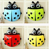 ZIQIAO Multifunctional Lovely Ladybug Powerful Cupule With Storage Boxes (Random Colors)
