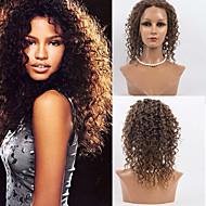 halpa -Naisten Aitohiusperuukit verkolla Aidot hiukset Full Lace 120% Tiheys Syvä laine Peruukki #27 #30 #33 #4/27 #1B/30 Keskikokoinen 100%