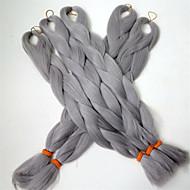 Classique Cheveux Synthétiques 24 pouces Extension des cheveux Type Croisé Femme Homme Quotidien