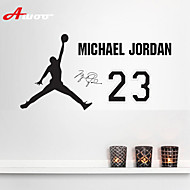 AWOO® Hand Holding Basketball Michael Jordan Wall Stickers Home Decor Vinyl  Stickers For Kids Room Part 85