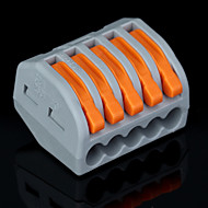 billige Lysbrytere-50stk pct-215 400v / 4 kV / 32a Universell kontakt 0.08-2.5mm² enkel / 0.08-4.0mm² multi tråd 9-10mm avisoleringslengde