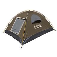 Makino 3-4 persoane Cort Triplu Cort de campare Impermeabil Uscare rapidă Respirabilitate pentru Drumeție Camping Exterior 2000-3000 mm