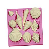 1pc Muovi DHZ Cake Cake Moulds Bakvormen gereedschappen