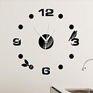 Inne Modern / Contemporary Zegar ścienny , Inne Plastikowy 17*17 inch (43*43cm)