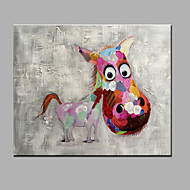 Single Modern Abstract Pure Hand Draw Ready To Hang The Donkey Decorative  Oil Painting