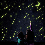 Luminous Wall Stickers Wall Decals, Meteor Shower PVC Wall Stickers