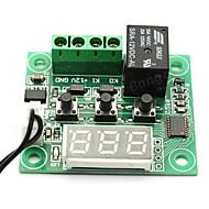 w1209 DC 12V -50 a +110 temperatura controle do termostato interruptor termômetro