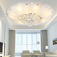 cheap Ceiling Lights-Flush Mount Crystal / LED Modern/Contemporary / Traditional/Classic Living Room / Bedroom / Dining Room Metal
