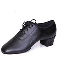 Sapatos de Dança ( Preto ) - Masculino - Não Personalizável - Latina