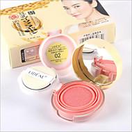 voordelige LIDEAL-3 Blush Droog Poeder Gekleurde Lipgloss Vochtigheid Olie-regulering Langdurig Concealer Oneffen huidtint Naturel Poriënverkleinend