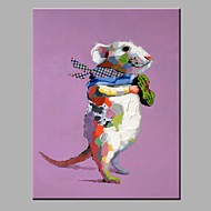 Oil Painting Modern Abstract  Pure Hand Draw Ready To Hang Decorative  The Rats Oil Painting