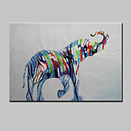 Hand-Painted Abstract Lovely Animal Modern Zebra Oil Painting , Canvas One Panel Ready to Hang