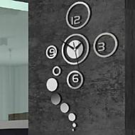 Rotund Modern/Contemporan / Informal / Birou / Afacere Ceas de perete ,Vacanță / Case / Inspirațional / Nuntă / Familie /