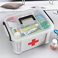 cheap Storage & Organization-New Family Health Medicine Chest Pill Box First Aid Scrapbooking & Stamping Kits