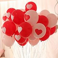 10st hartvormige ballon bruiloft ballon afdrukken van foto's te trouwen fashion ballon liefde ballon